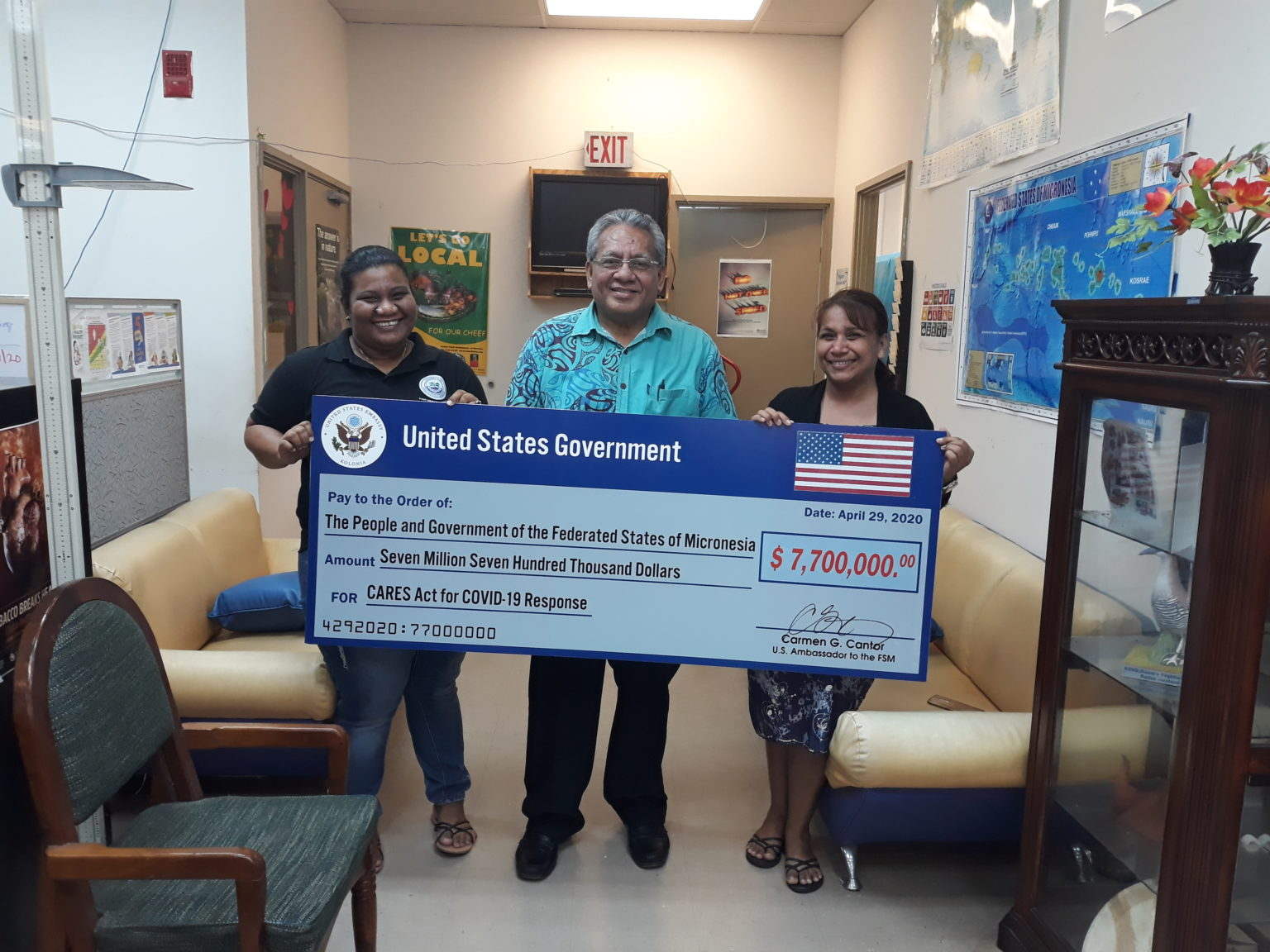 USA CARES Act Assistance to FSM